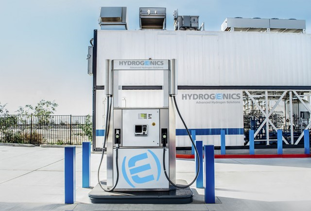 Hydrogenics hydrogen fueling station