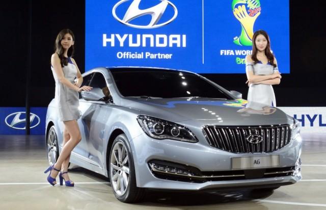 Hyundai AG sedan, 2014 Busan Auto Show
