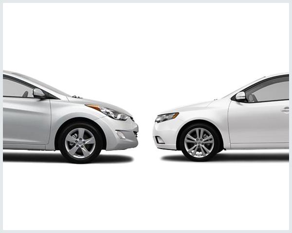 Hyundai Elantra Vs. Kia Forte