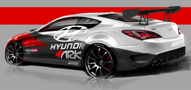 Hyundai Genesis Coupe R-Spec Track Edition, by ARK Performance