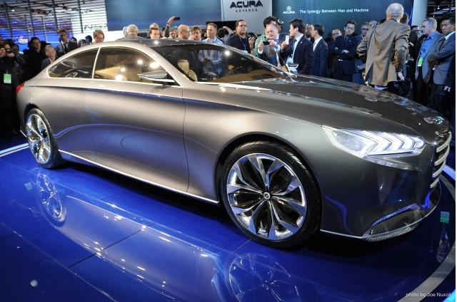 Hyundai HCD-14 Genesis Concept revealed at 2013 Detroit Auto Show