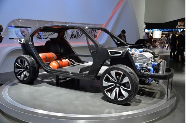Hyundai Intrado concept - 2014 Geneva Motor Show live photos