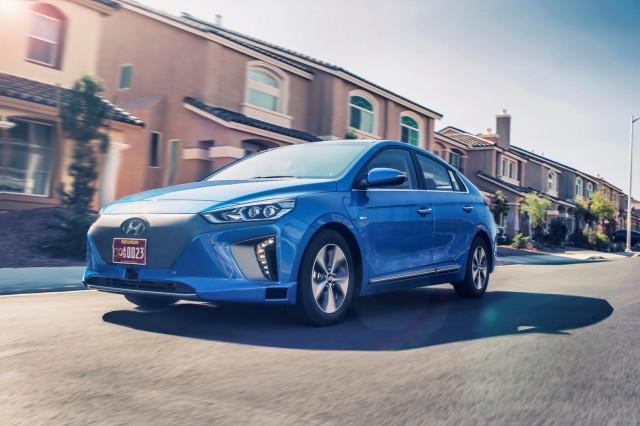 Hyundai Ioniq autonomous prototype
