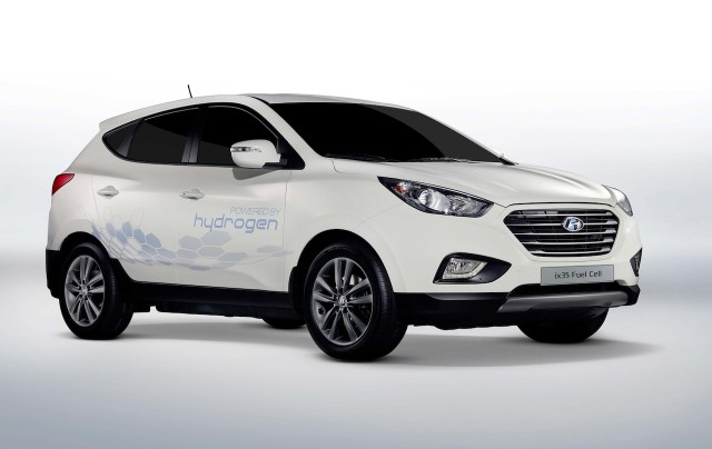 Hyundai ix35 Fuell Cell Vehicle