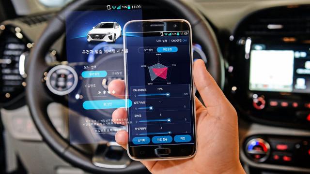 Hyundai-Kia smartphone-based EV performance settings