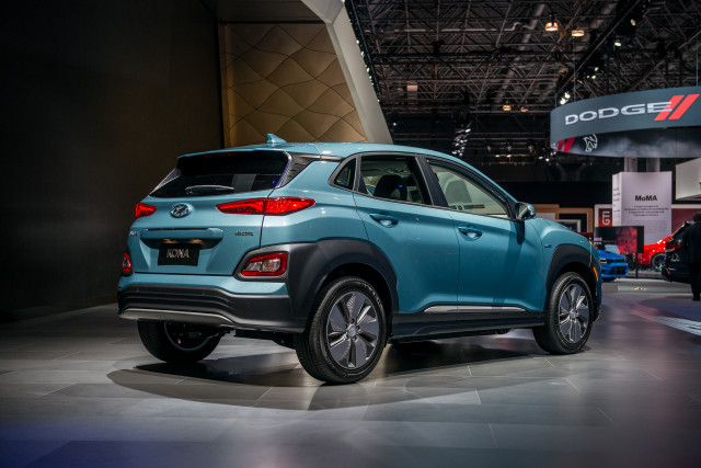 2019 Hyundai Kona Electric 2018 New York Auto Show