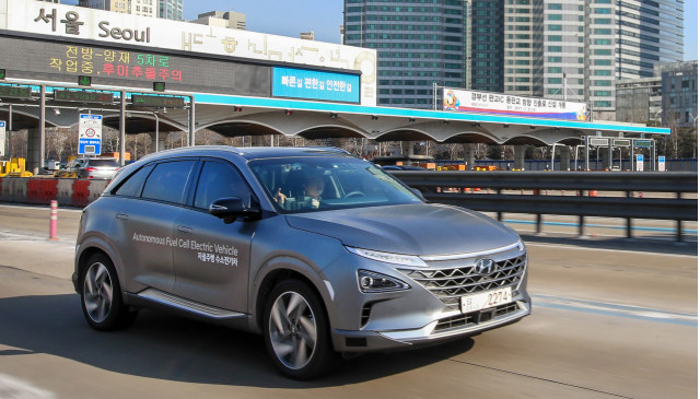 South Korean Government Trims Orders For Hyundai Nexo Hydrogen Fuel Cars