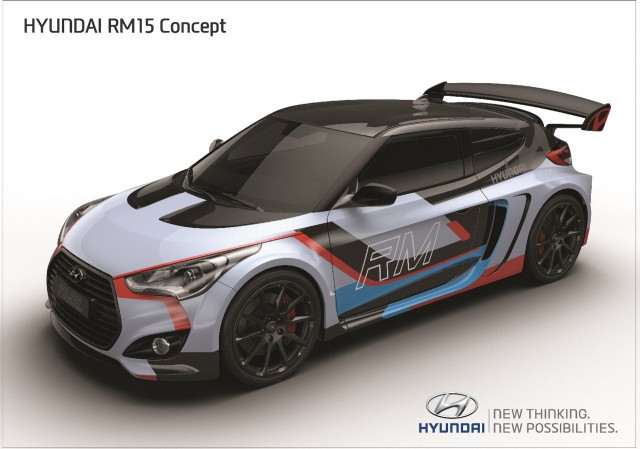 Hyundai Unveils Second Veloster Based Mid Engine Concept