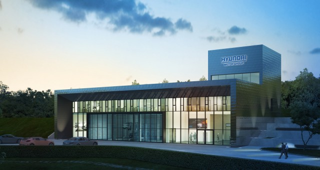 Hyundai Test Center at the Nurburgring
