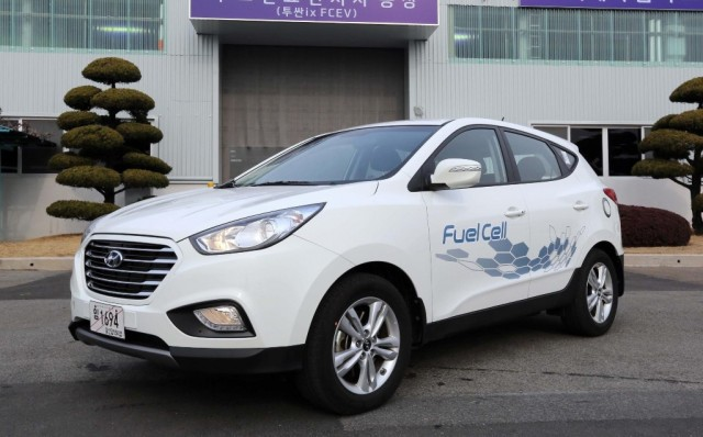 Hyundai Tucson Fuel-Cell vehicle enters production