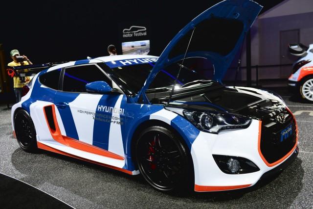Hyundai Veloster Midship concept, 2014 Busan Auto Show