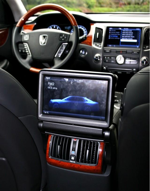 2011 Hyundai Equus (Korean-market vehicle)