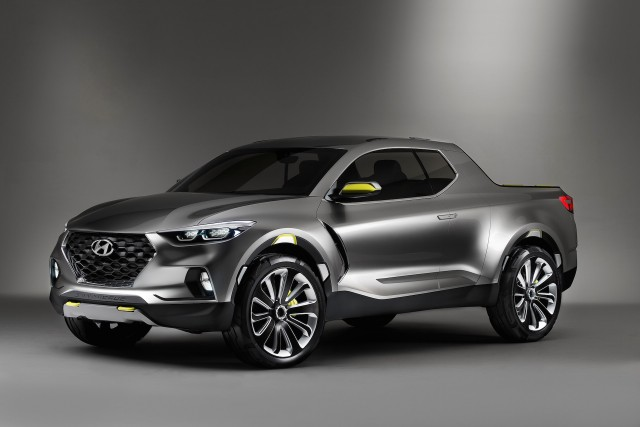 2022 Hyundai Santa Cruz small pickup truck coming along with 12 new Hyundai SUVs
