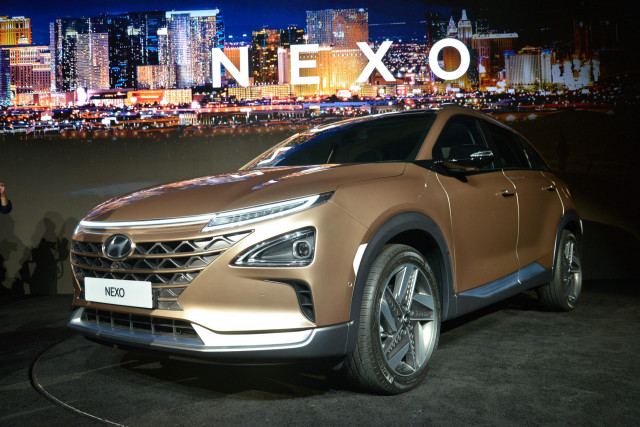 Hyundai showed the hydrogen crossover