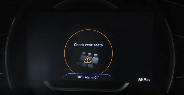 Hyundai making rear-seat reminder standard on most models by 2022
