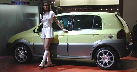 Hyundai TB concept Tokyo 2001