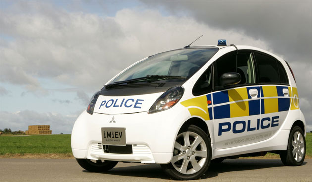 i-MiEV Police Vehicle