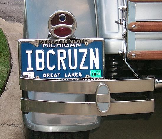 ibcruzn license plate