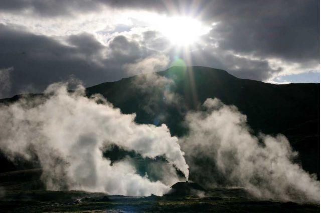 Icelandic Steam Vents