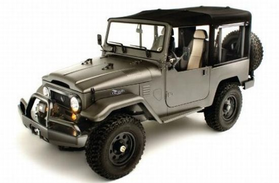 ICON's re-worked Toyota Land Cruiser