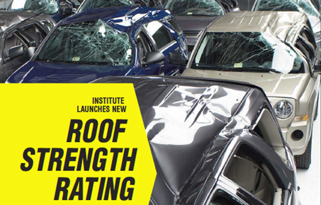 The new roof-strength standards being tested are intended to help reduce rollover injuries and deaths