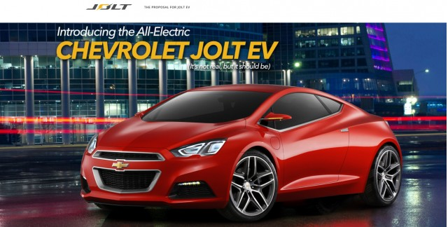 Image Of Supposed Chevrolet Jolt Ev Electric Coupe Shown On Chevroletjoltev Website May