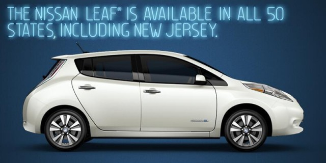 Image tweeted (and then removed) by @NissanLeaf Twitter account, March 2014