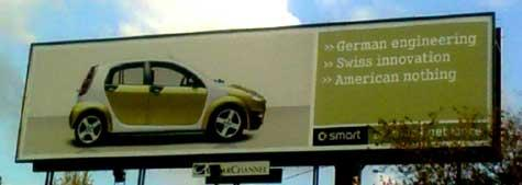 Smart: The Anti-American Minicar?