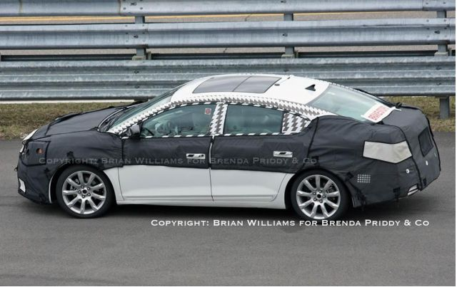 2010 Buick LaCrosse Spied, Inside and Out