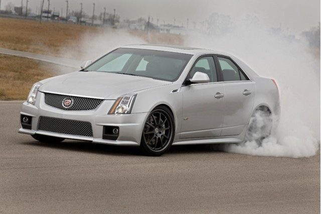 Video: 700-hp Hennessey Cadillac CTS-V Blows OnStar's Mind