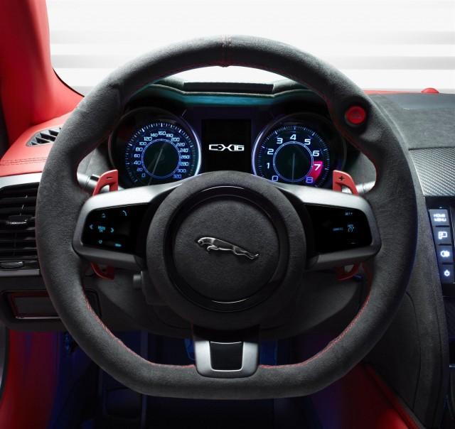 Jaguar C X16: Jaguar C-X16 Sports Coupe Concept: 'Push-To-Pass' Hybrid