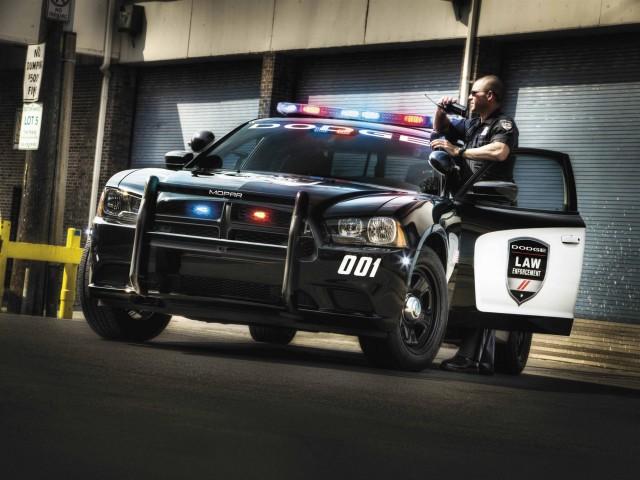 2012 Dodge Charger Pursuit police car