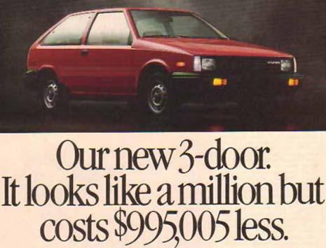 1986 Hyundai Excel