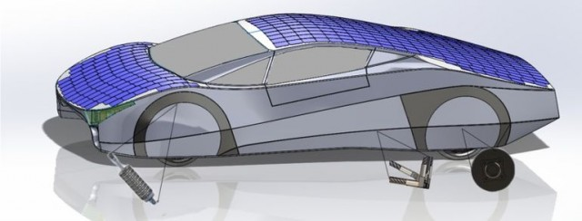 Immortus Electric Car Concept Claims Solar Running Up To