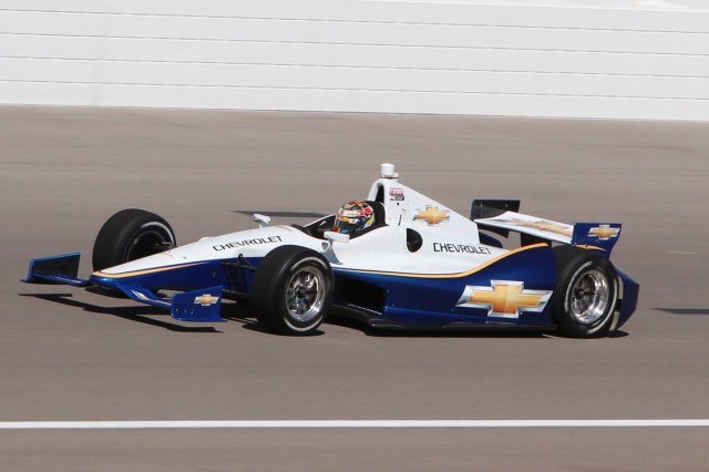 In 2012, Chevy returns to IndyCar racing with an all-new twin-turbo V-6.