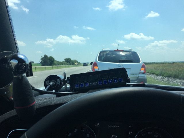 Trooper goes viral for pulling over left lane slowpoke