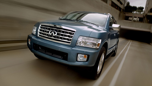 Infiniti launches the 2008 QX56 SUV