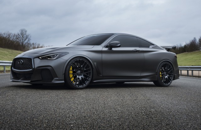 Infiniti S Q60 Project Black S Will Wear Special Made Pirelli Tires
