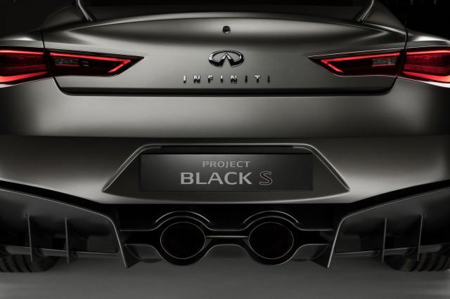 Infiniti Q60 Project Black S Concept 2017 Geneva Auto Show