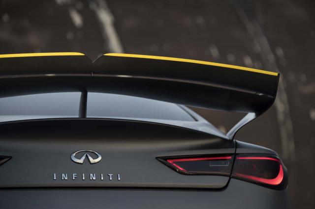 563 Horsepower Infiniti Q60 Black S Prototype Revealed With F1 Tech