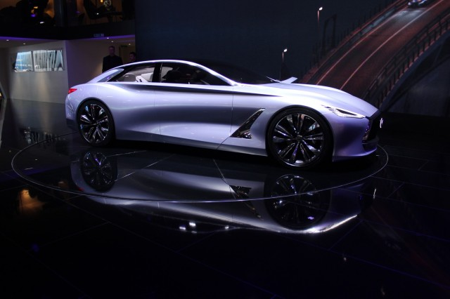 Infiniti Flagship Sedan Concept Tipped For Detroit Debut - Infiniti car show