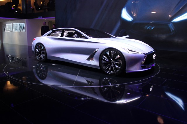 Infiniti Q80 Inspiration Concept - 2014 Paris Auto Show