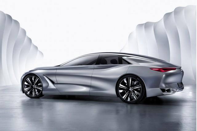 Infiniti Q80 Inspiration concept, 2014 Paris Auto Show