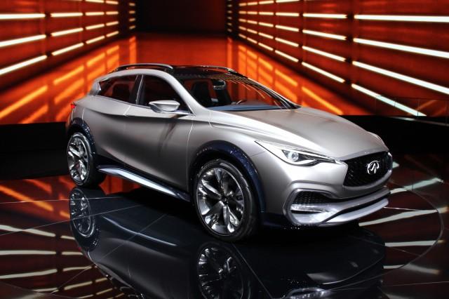 Infiniti QX30 Concept - 2015 Geneva Motor Show