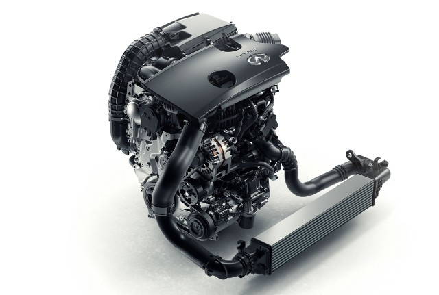 Infiniti VC-T (Variable Compression-Turbocharged) engine