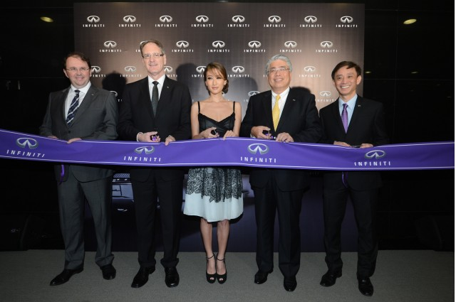 Infiniti opens dealership in Hong Kong