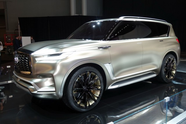 2018 Infiniti QX80 teased, coming to Dubai Motor Show