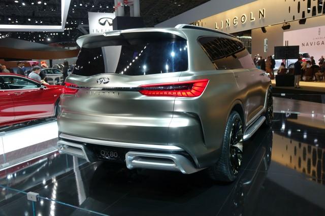 Infiniti QX80 Coming to Dubai Motor Show
