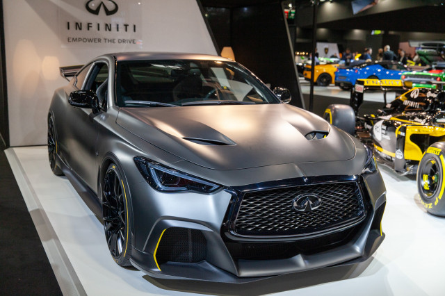 Infiniti Project Black S Concept, 2018 Paris auto show