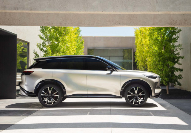 Infiniti QX60 SUV skips 2021 model year for 2022 redesign
